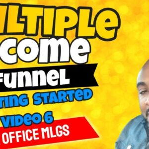 Multiple Income Funnel | Overview Getting Started Success With MIF My Lead Gen Secret  Video  6