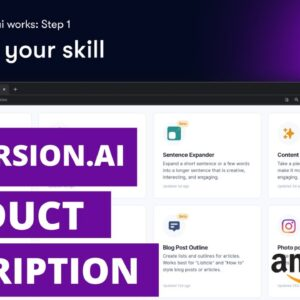 Conversion AI Product Description Review - Can Software Write Better Than You?