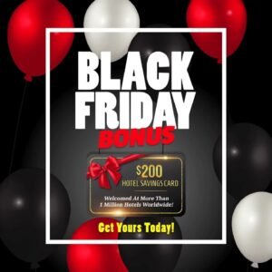 Vacation Incentives - Black Friday - Hotel Gift Cards