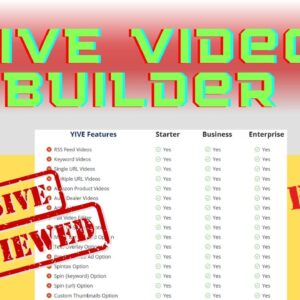 Yive Video Builder Review ✅ Best Vidnami Alternative [Yive Video Builder Lifetime Offer]