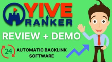 YIVE Ranker Short Demo: Automated Backlink Creation Software