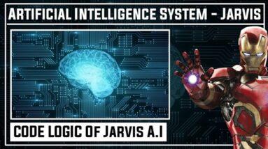 CODE LOGIC Of A.I Jarvis | How To Make Jarvis | A.I Assistant | Python | Jarvis | Kaushik Shresth |