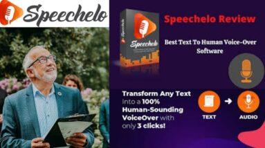 Make money online | Speechelo | speechelo review | text to speech | voice over | tts