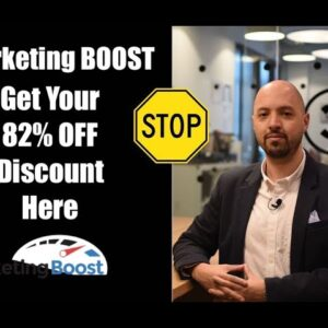 Marketing Boost review (Get 82% off Marketing Boost NOW) | Marketing Boost review discount