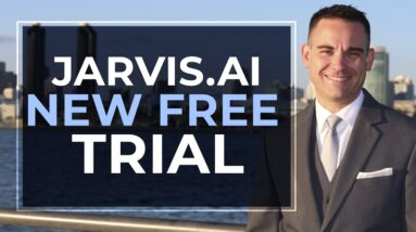 Jarvis.ai Free Trial (5 Days) ✅ Signup For Free With 10,000 Bonus Words (i.e. Conversion.ai)