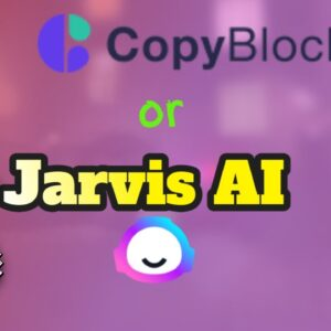 #Jarvis vs. Copyblocks AI - What you need to know before choosing a copywriting tool
