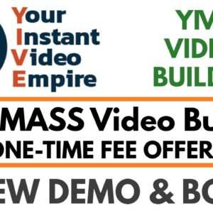 YIVE Video Builder Review Demo Bonus - YIVE MASS Video Builder with One-Time Fee Option