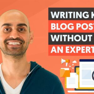 How to Write Amazing Blog Posts WITHOUT Being an Expert in Your Niche