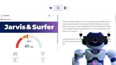 How to Write Blog posts that Rank High with Surfer 🏄♂️ + Jarvis 🤖