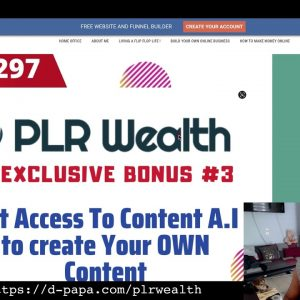 Learn How To Use PLR's To Make Money Online   PLR WEALTH