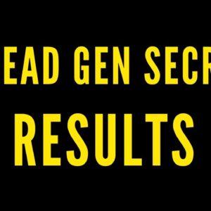 My Lead Gen Secret Result - Must Watch Before Buying!