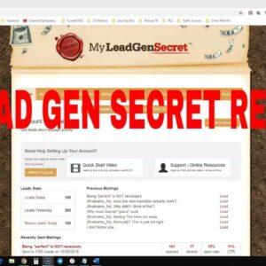 My Lead Gen Secret Results - Does It Work In 2021?