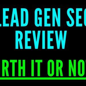 My Lead Gen Secret Review 2021