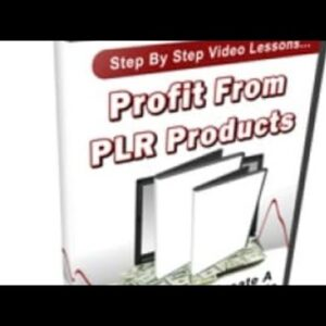 Profit From PLR Products videos 💯 free course Available