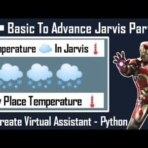 how to check temperature using python in Jarvis | How to Make Jarvis In Hindi | CODE TECH | #Jarvis