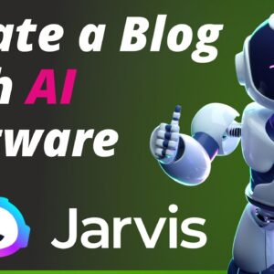 'REAL USE' of Jarvis ai - AI writing tools for blogging
