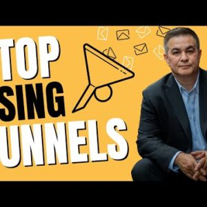 Stop Using A Funnel For Your Email Marketing // Armand Morin