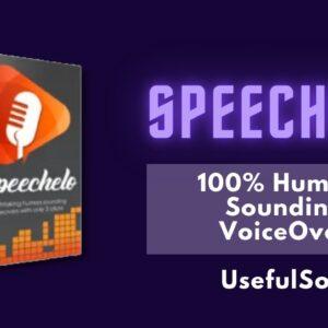 Text to Speech converter | Speechelo | UsefulSoftware
