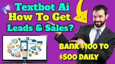 textbot ai review 2021 - how to use matrix pro leads to build textbot ai?