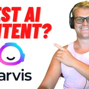 The Top AI Content Writing Tool On The Market (Jarvis AI)