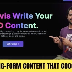 How to Write a COMPLETE SEO ARTICLE with AI Content Generator   ConversionAi