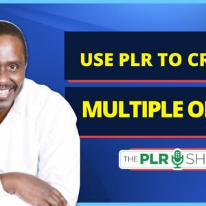 Use PLR to Create Multiple Offers - Public Session of Ultimate Insiders