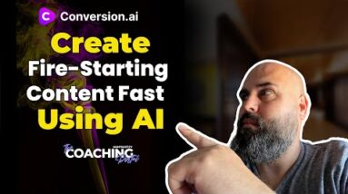 Jarvis - Conversion AI - How to create fire-starting engagement content for Facebook