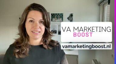 Wat is de VA Marketing BOOST?