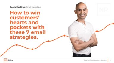 How to win customers' hearts and pockets with these 7 email strategies webinar.
