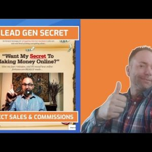 My Lead Gen Secret Indirect Sales and Commissions - Review and Commission Proof