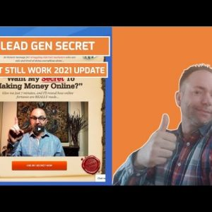 My Lead Gen Secret Does Its Still Work 2021 Update - Generate Leads and Commissions!