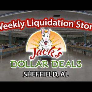 DEAL DAYS! LIQUIDATION BIN STORE! JACK'S DOLLAR DEALS SHEFFIELD $5 FRIDAY 10-01-21 SNEAK PEEK VIDEO