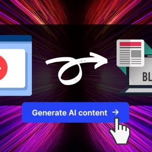 How To INSTANTLY Convert YouTube Videos Into Blog Posts / Articles (Conversion Ai / Jarvis Tutorial)