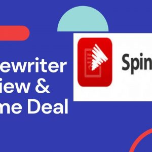 Spin Rewriter 12 Review 2021/Beware Before You Signup!! Life Time Deal /Don't Buy Before Seeing This