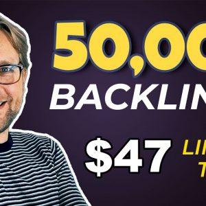 50,000 Backlinks - (Limited Time!)