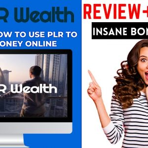 PLR Wealth Review 🔥🔥🎁300++ Bonus Worth $9988 🎁🔥DISCOVER HOW TO USE PLR TO MAKE MONEY ONLINE🔥