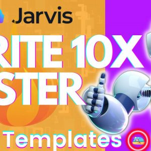 AI Writer Software WRITE 10.8X FASTER With Jarvis.ai
