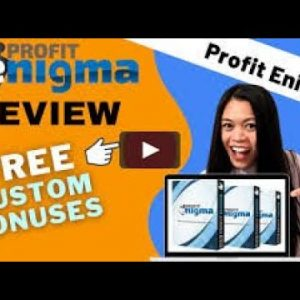 Profit Enigma Review - 🚫WAIT🚫DON'T BUY WITHOUT WATCHING THIS DEMO FIRST🔥