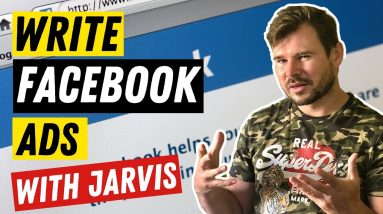 How To Write Facebook Ads That Convert In 2021   Jarvis Facebook Ad Template Review