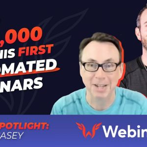 He's Made $100K On His First Automated Webinar