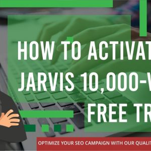 How To Activate Jarvis 10,000-word Free Trial