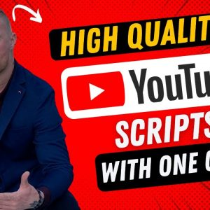 How To Write A Script For YouTube With A.I