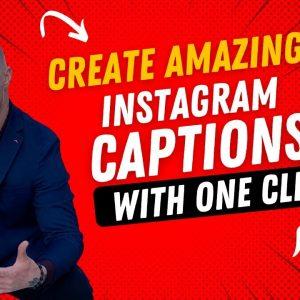 How To Write Instagram Captions Using A.I Writing Tool