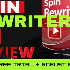 SPIN REWRITER 12 REVIEW | SPIN REWRITER 12 DEMO | HUMAN QUALITY ARTICLES | 5-DAY FREE
