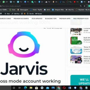 JARVIS CONVERSION AI FOR FREE
