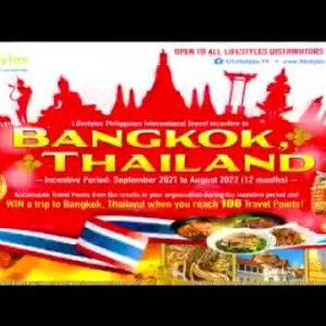 Lifestyles Travel Incentives to BANGKOK THAILAND