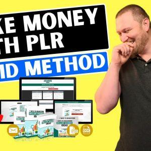 Make Money from PLR Products (Hybrid Method!)