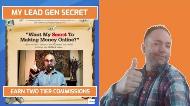 My Lead Gen Secret Earn Two Tier Commissions Review and Update
