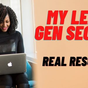 My Lead Gen Secret Review 2021- Real Results - PROOF