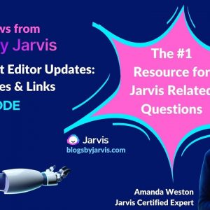 NEW Jarvis Updates! Add Links & Images in the Jarvis Document Editor
